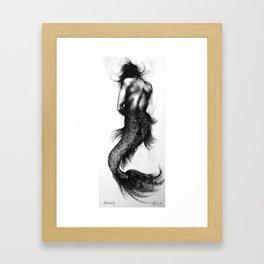 Mermaid 4 Framed Art Print