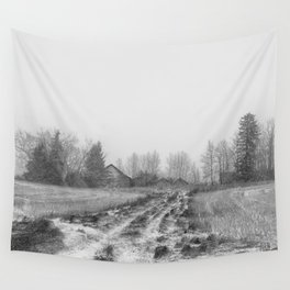 Winter's Past Wall Tapestry