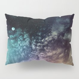 Polychrome Moon Pillow Sham