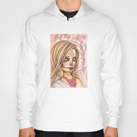 gemma correll Hoodies featuring Blonde Sugar Skull by Gemma Pallat by ToraSumi
