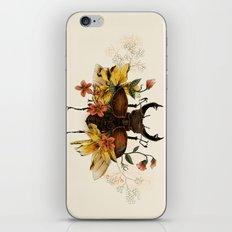 Blooming Beetle iPhone & iPod Skin