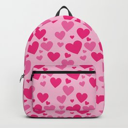 Hearts pattern Backpack