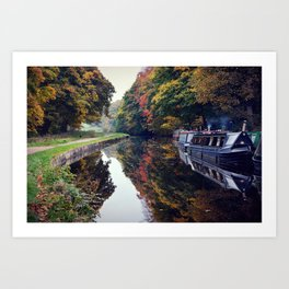 Autumns Palate  Art Print