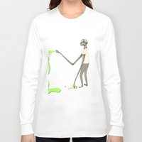 graffiti Long Sleeve T-shirts featuring GRAFFITI by auntikatar