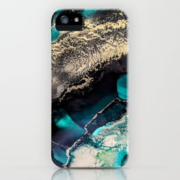 Emerald Beauty iPhone Case