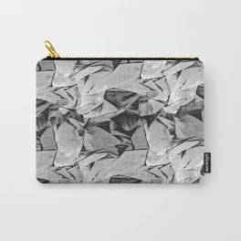 Wrinkle free grid  Carry-All Pouch