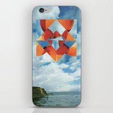 Orange Sky iPhone & iPod Skin