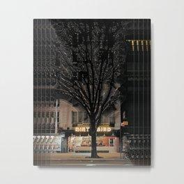 dirt/tree/bird Metal Print