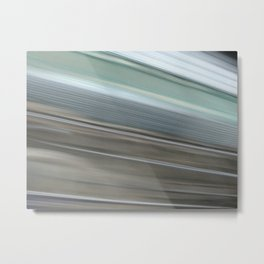 In the streets of palermo in motion Metal Print