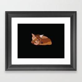 Little Bambi Framed Art Print