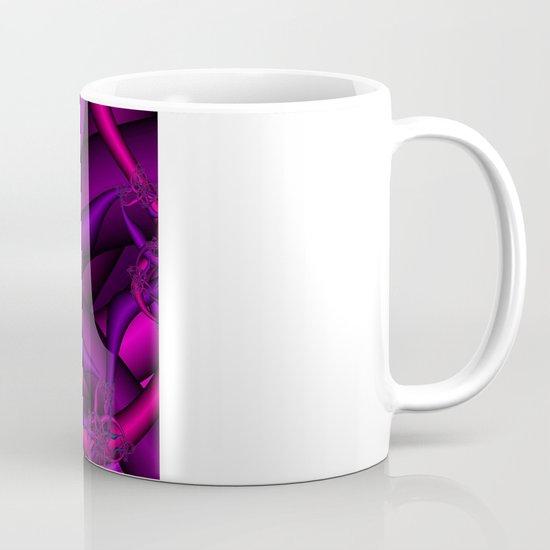 Pink Purple and Blue Mug