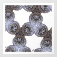 fractal swirls 2 Art Print