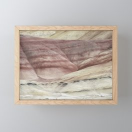 Hills as Canvas, No. 3 Framed Mini Art Print