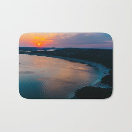 Sunset at Lake Travis Bath Mat