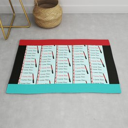 Composition Crush Rug