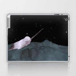 Narwhal's made all those shiny little holes in the night sky Laptop & iPad Skin
