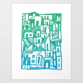 Greenville Art Print