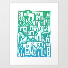 Greenville Art Print