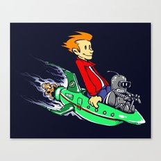 Bender and Fry Canvas Print