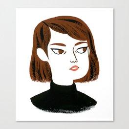 Epic side eye Canvas Print