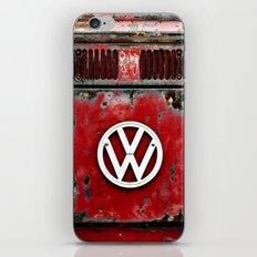 VW Retro Red iPhone & iPod Skin