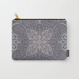 Vintage Ornate Watercolor Carry-All Pouch