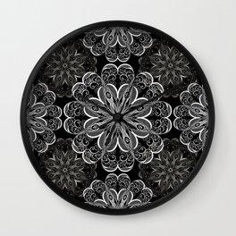 Ornamental pattern Wall Clock