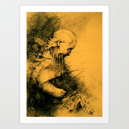 BornPluggeD Art Print
