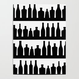 Classic Bottles Poster