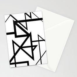 Black & White Minimal Design Nr. 2 Stationery Cards