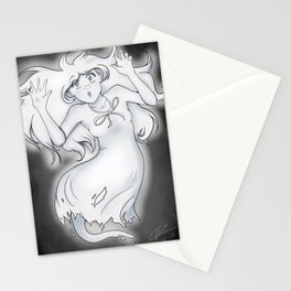 Spooky Ghost Girl Stationery Cards