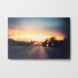 the road to love Metal Print