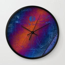 Da Vinci's Expressions (aka Vitruvian Man) Wall Clock