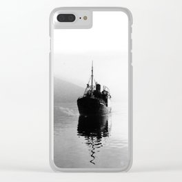 Fjord ship Clear iPhone Case