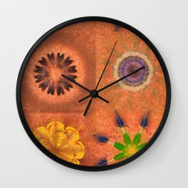 Evolving Truth Flowers  ID:16165-093100-83380 Wall Clock