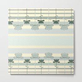 Checkered Spring Metal Print