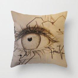 These Eyes Throw Pillow