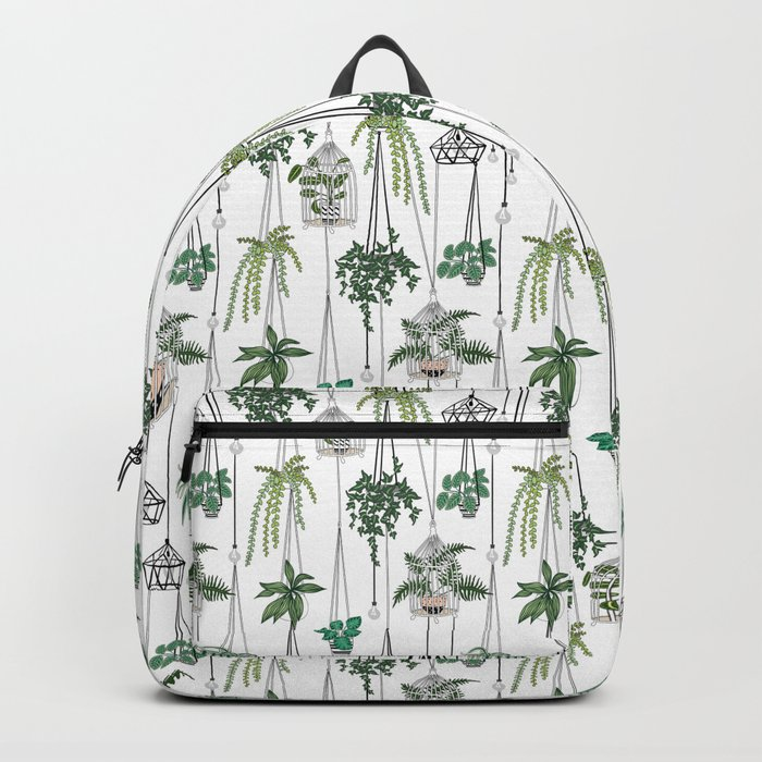 hanging pots pattern Backpack