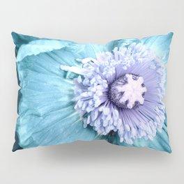Blue Flower Pillow Sham
