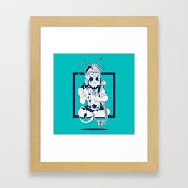HANOUMAN Framed Art Print