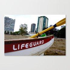 Save Me - English Bay Lifeguard Post Canvas Print