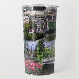 Christchurch Collage No 2 Travel Mug