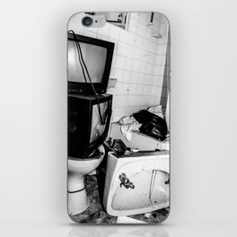 Tv on the Toilet iPhone Skin