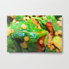 Cous Cous Salad Metal Print