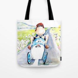 New car Tote Bag