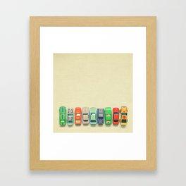 Get Set Go Framed Art Print