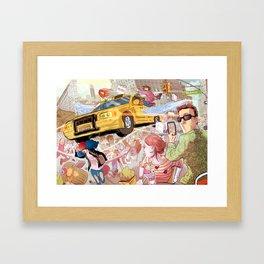 Summer in the City Framed Art Print