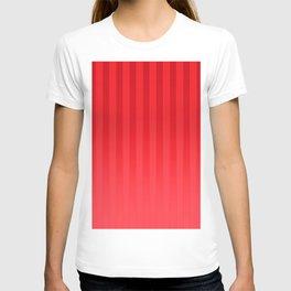 Gradient Stripes Pattern ir T-shirt