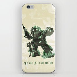 Bring a Friend iPhone Skin