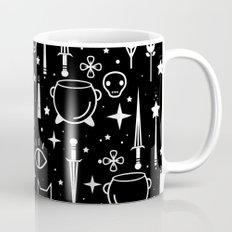 Spirit Symbols Black Mug